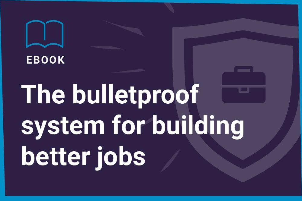 Building better jobs