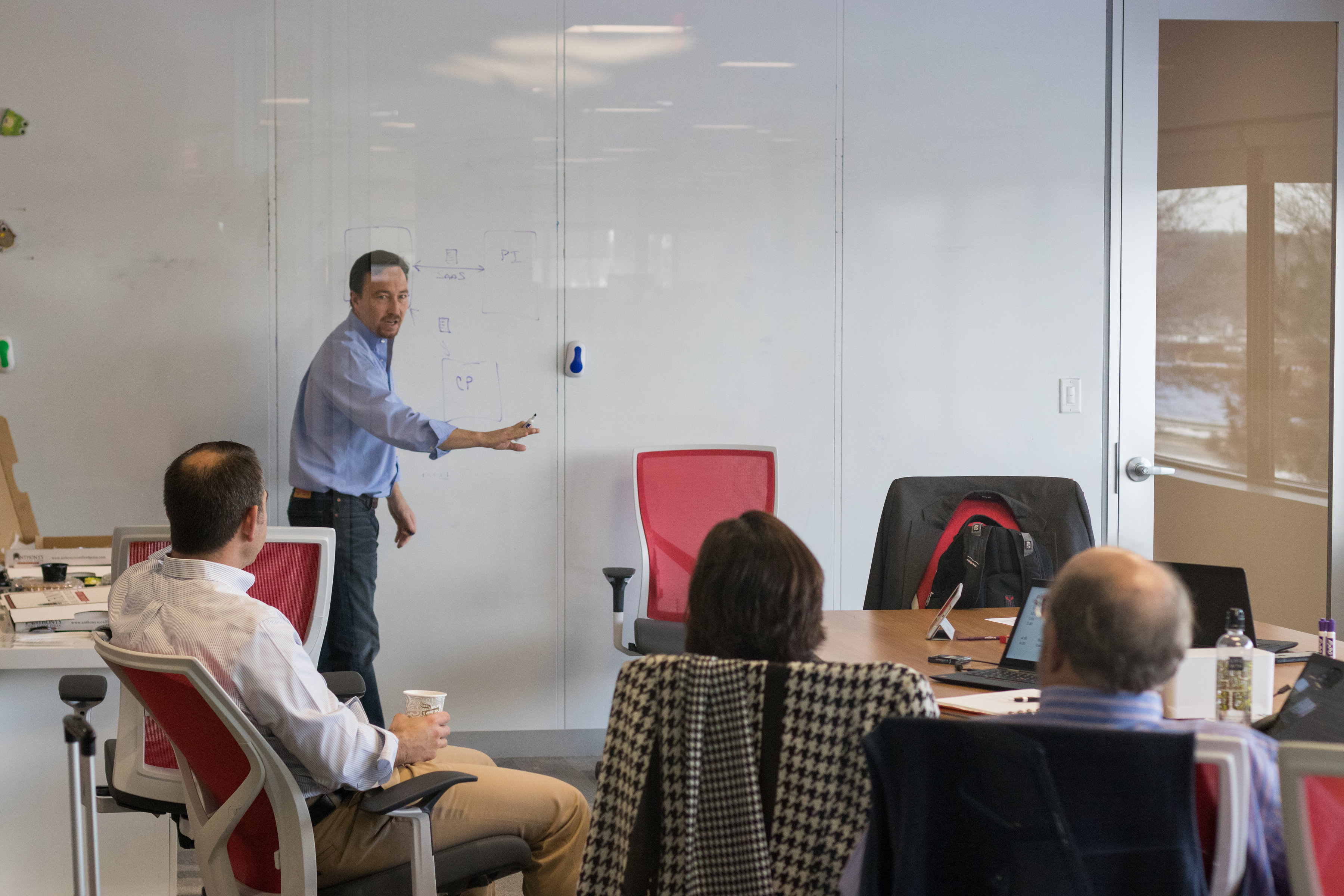 Manager engages in strategic workforce planning activity