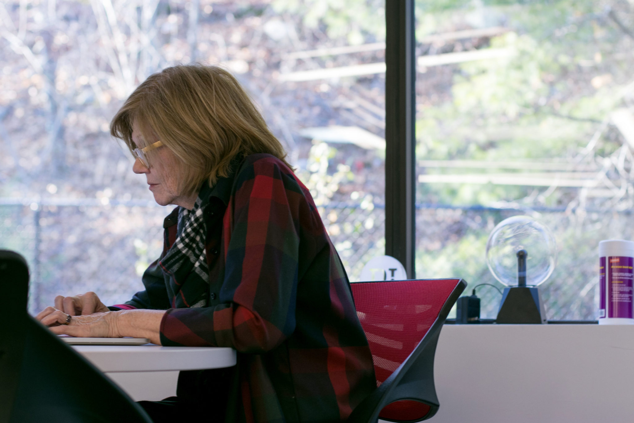employee adhering to tips for working remotely