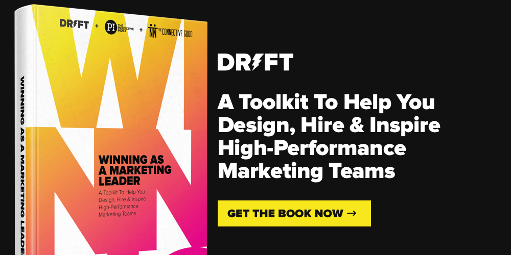 Drift Winning As A Marketing Leader e-book