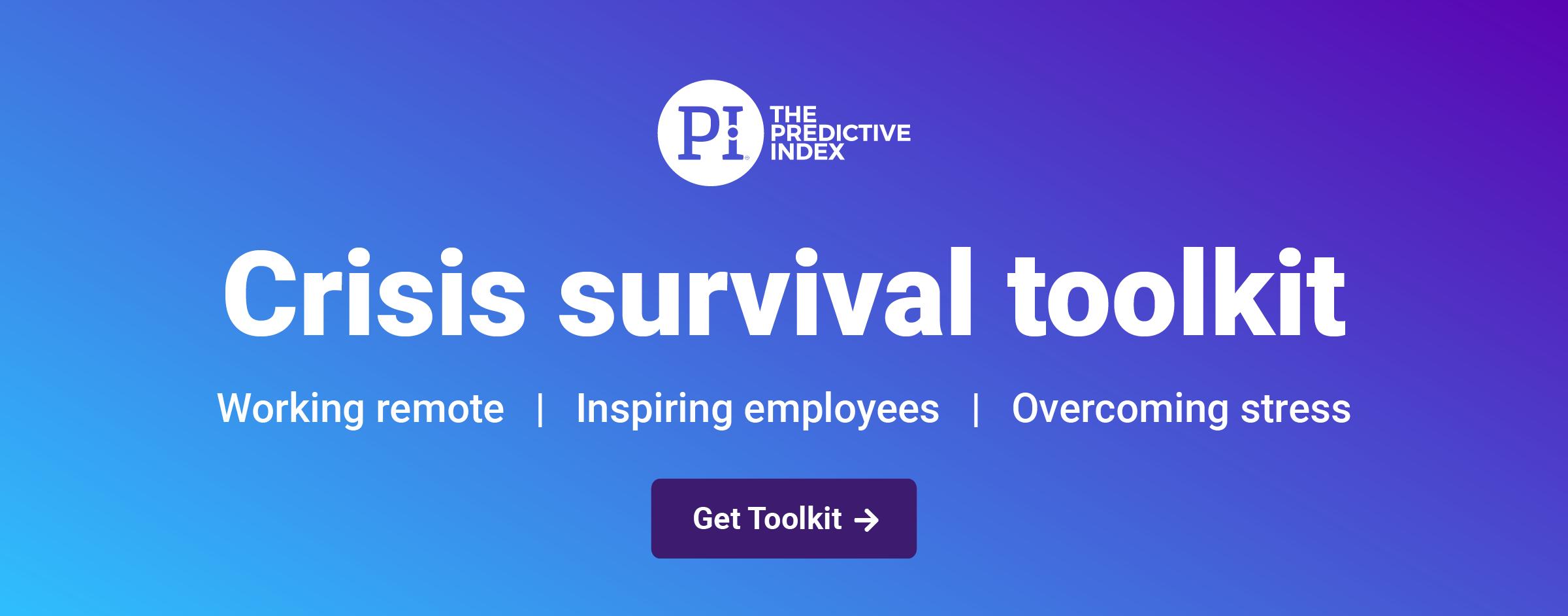 PI Crisis Survival Toolkit banner