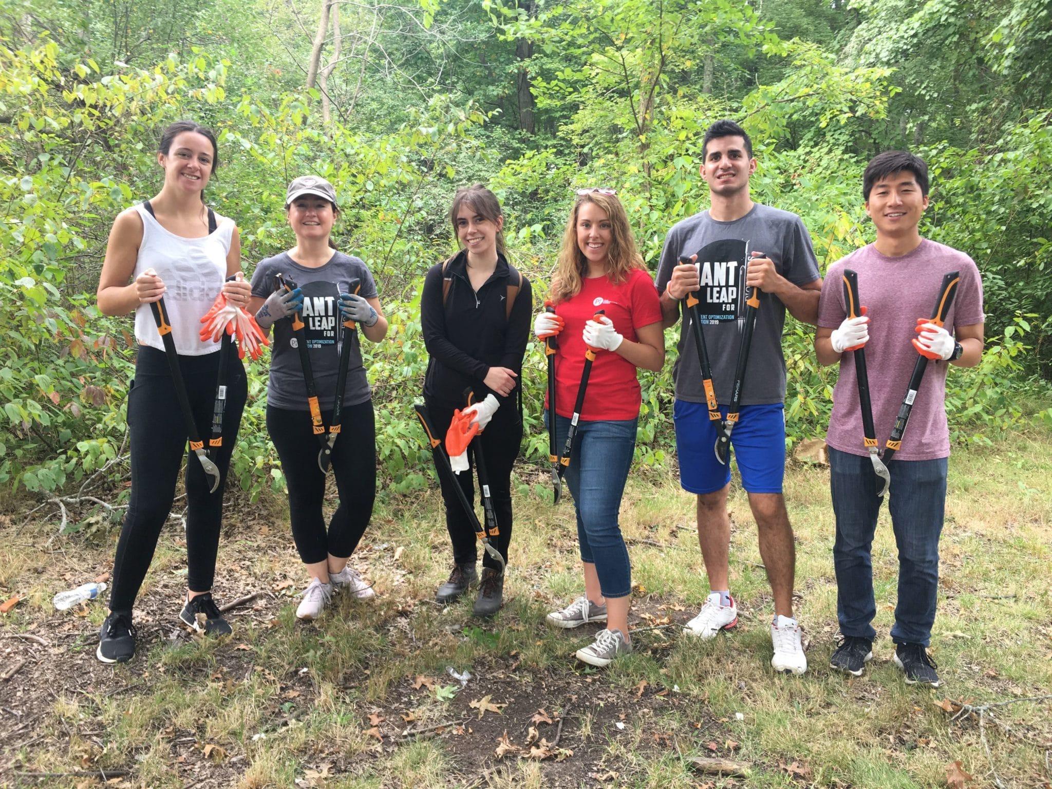 Blue Hills volunteer project