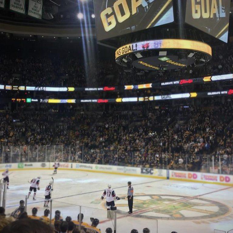 Boston Bruins goal