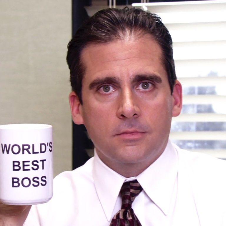 Michael Scott World's Best Boss mug screenshot