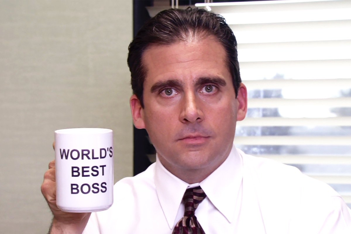 Michael Scott World's Best Boss mug screenshot
