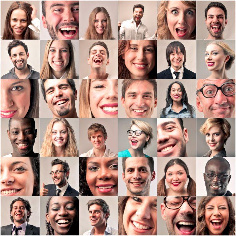 People laughing mashup