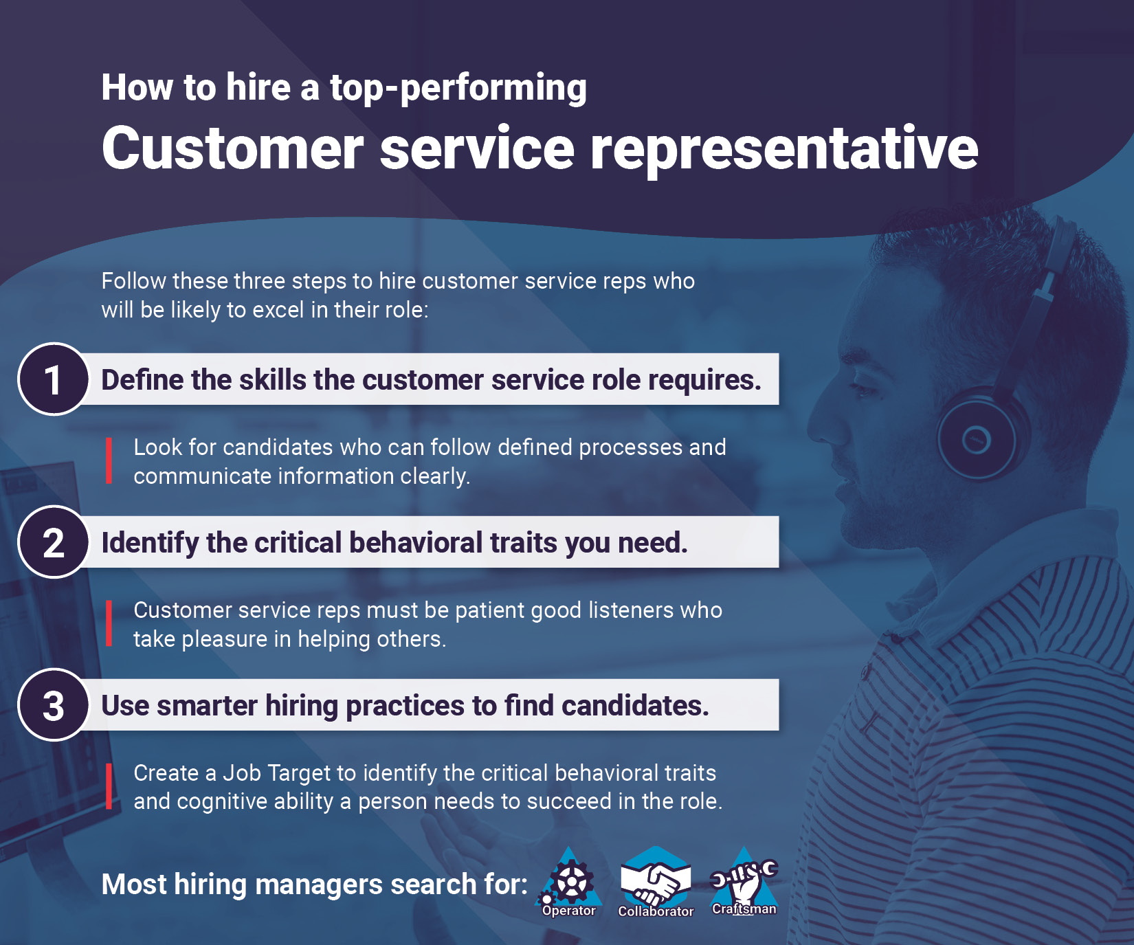 Need to find customer service reps? Follow these guidelines.