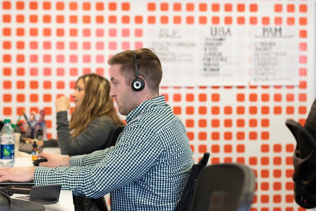 Frontline employee customer service rep