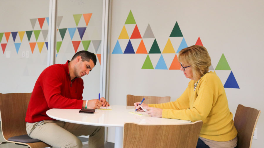 guiding clients to create business strategy