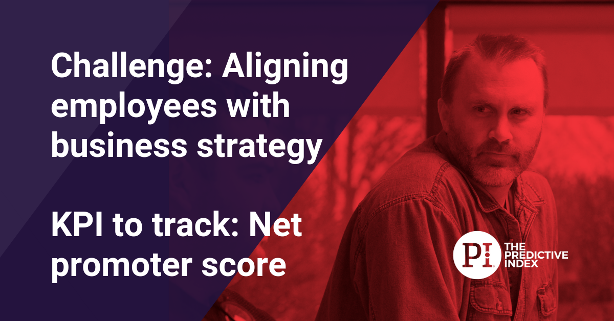 Solve the problem of aligning employees and strategy