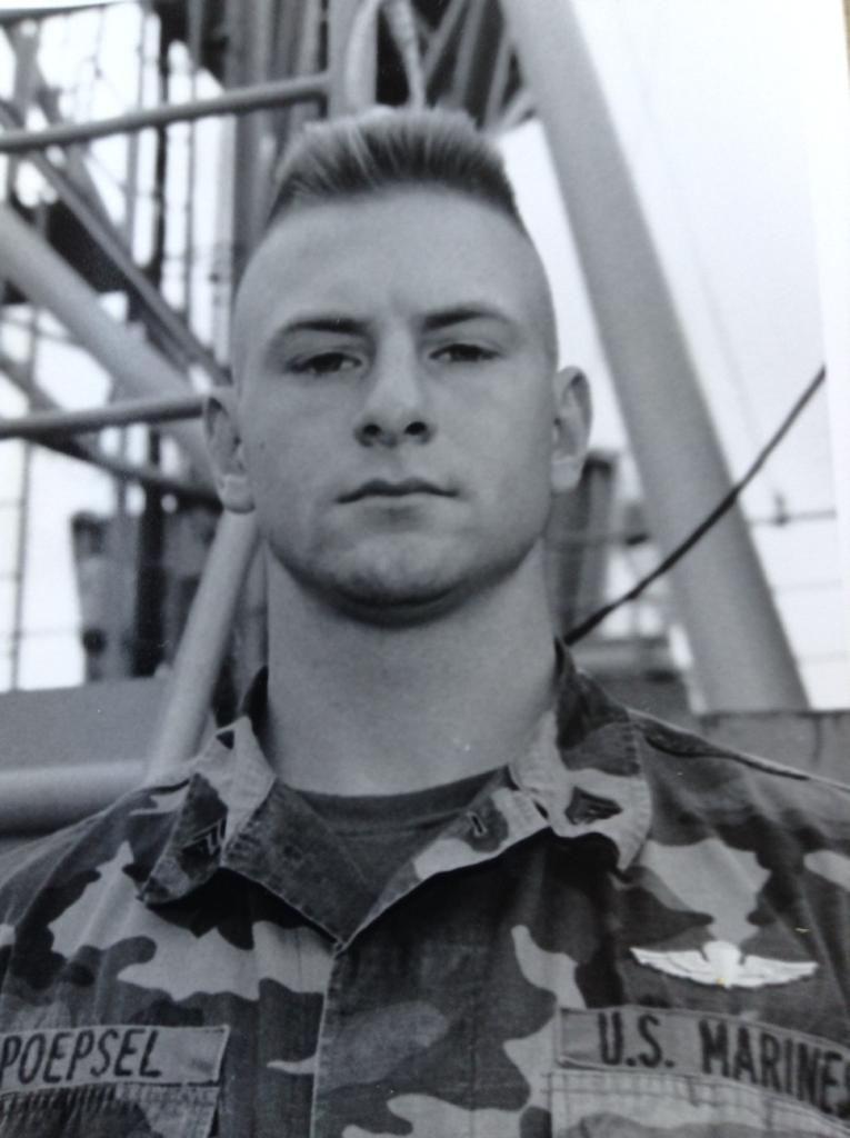 Matt in uniform