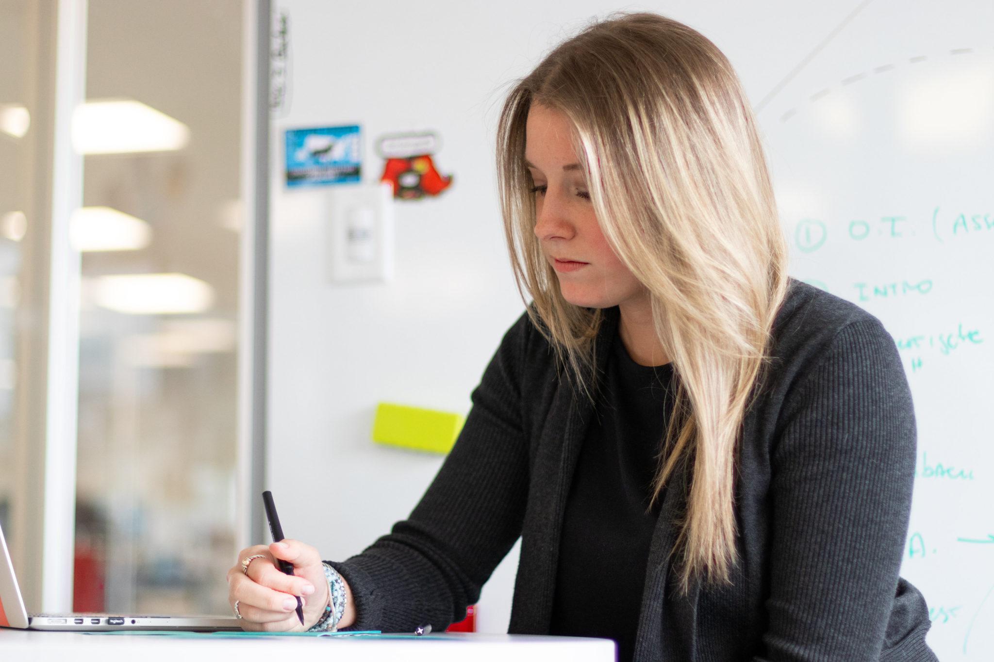 job recruiter completing PI Job Assessment and setting PI Job Target