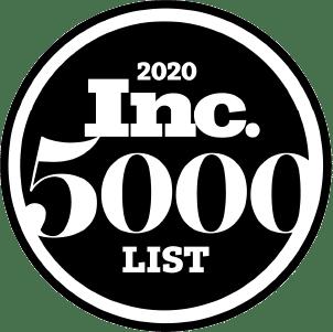 Logo for 2020 Inc. 5000 List