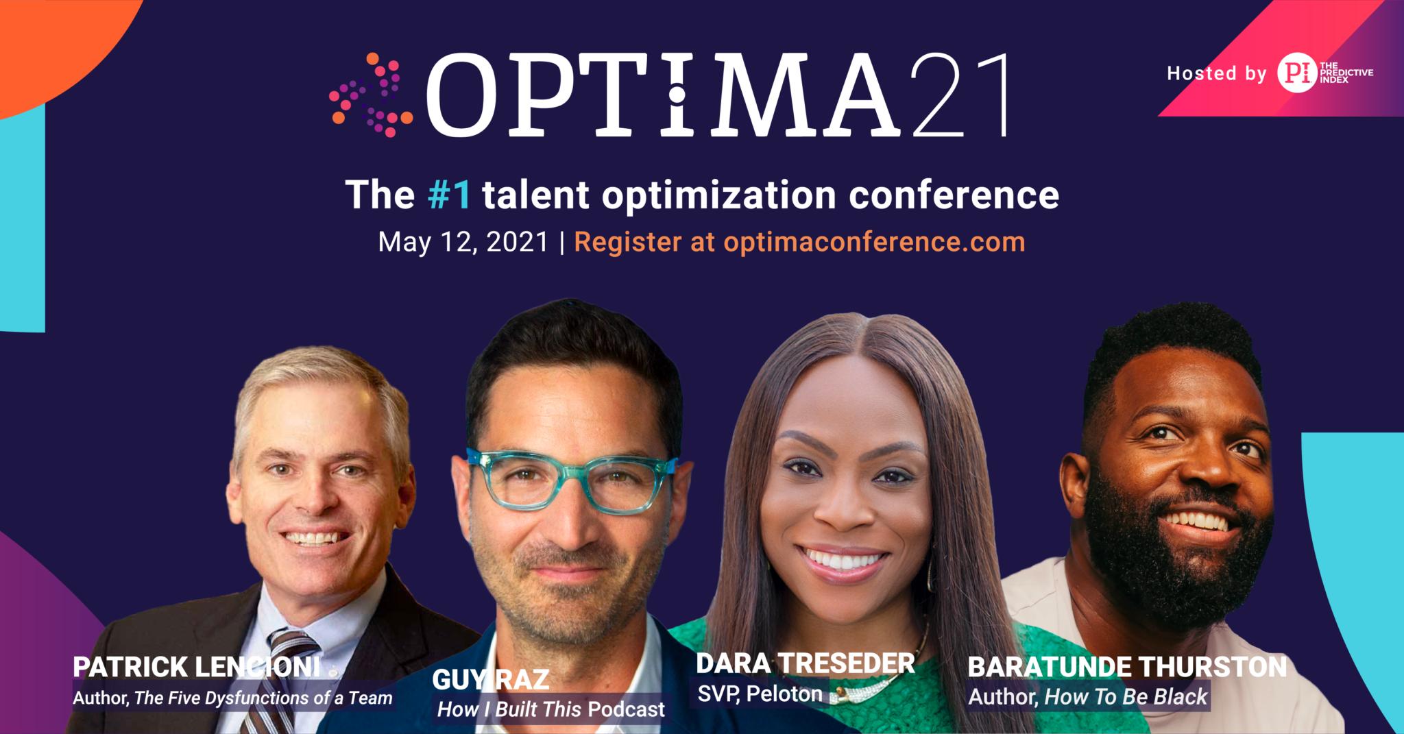OPTIMA21 speaker lineup